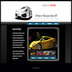 Web design for Supercar Rentals using Flash, Fireworks, XHTML and CSS in Dreamweaver